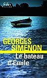le bateau d'emile par Simenon