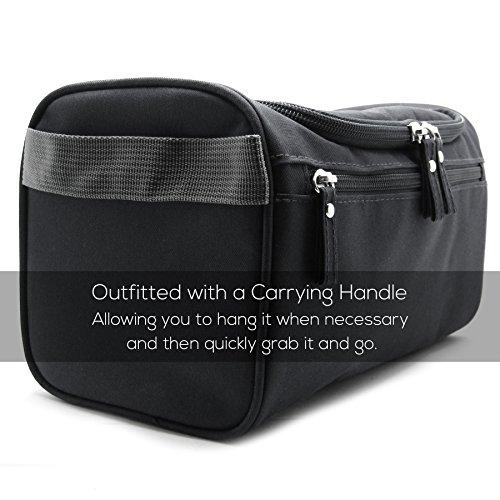 Mister Bag Toiletry Bag Hanging Travel Toiletries Bag, Black by Mister Bag (Image #7)