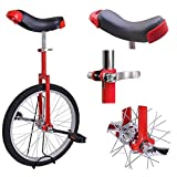 Triprel Inc 20' Inch Wheel Performance Unicycle - RED