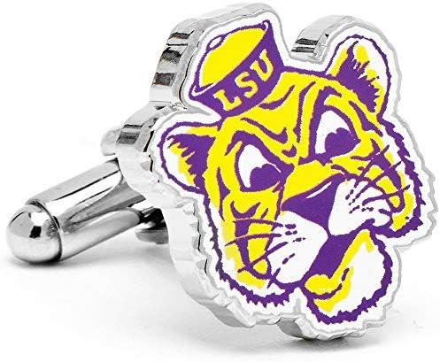 ルイジアナ州立大学 ビンテージ LSU タイガース カフスボタン pd-vlsu-sl