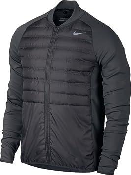Nike Aeroloft Hyperadapt Jkt Chaqueta, Hombre, Gris Dark Grey/Negro, XL: Amazon.es: Deportes y aire libre