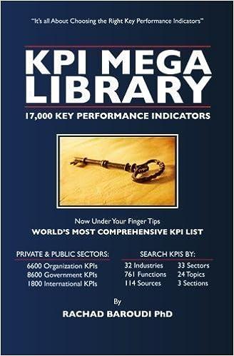 Buy kpi mega library: 17, 000 key performance indicators book.