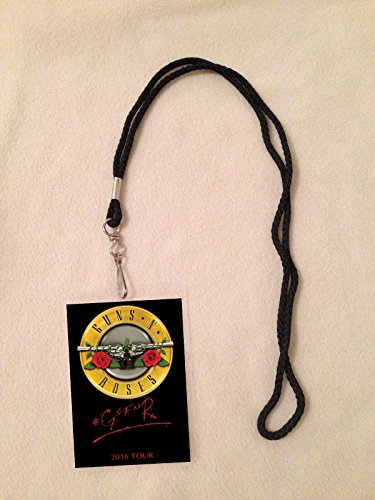 Guns N' Roses Not In This Lifetime Tour 2016 Vip All Access Backstage Meet & Greet Package Pass with Lanyard