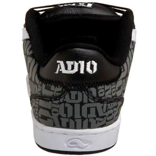 Adio Hombres Hamilton V2 Sneaker Blanco / Gris / Negro