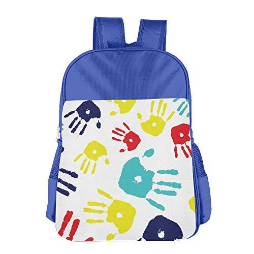 Autism Kid's School Backpack Child School Bag RoyalBlue For Boy's Girl's (Autism Backpack)