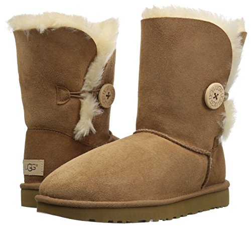 UGG Women's Bailey Button II Winter Boot, Chestnut, 8 B US by UGG (Image #6)
