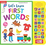 Let's Learn First Words-With 27 Fun Sound Buttons, this Book is the Perfect Introduction to First Words! (Listen & Learn)