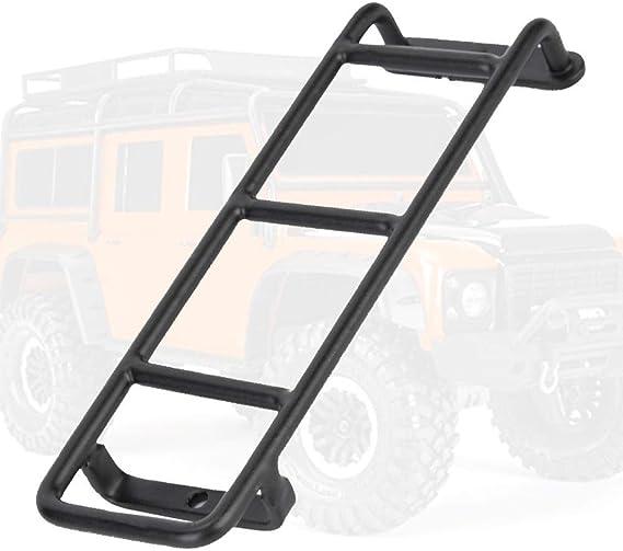 Woyisisi Accesorios para escaleras de escaleras de Metal, Mini, Negro, para la Escalera y Conos TRX-4 1/10 RC: Amazon.es: Hogar