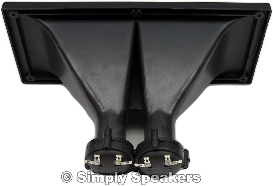 5 Inch x 11 Inch Dual Driver Piezo Horn Tweeter Peavey Type 70777107, T-1150DP