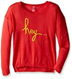 Soybu Girl's  Hello There Sweater, Fiesta, Medium For Sale