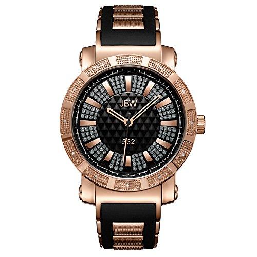 Black Dial Gold Diamond (JBW Men's JB-6225-L