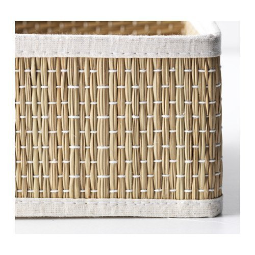 Ikea Salnan seagrass basket, 2 pack (small)