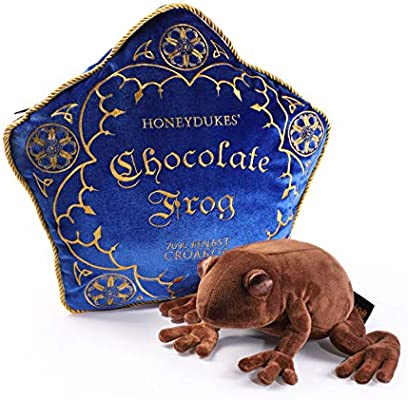Harry Potter Chocolate Frog Plush and Pillow by the Noble Collection NN8922