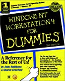 Windows NT 4 Workstation for Dummies, Andy Rathbone, 0764504967