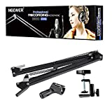 Neewer 2 Pack NW-35 Microphone Suspension Boom Scissor Arm Metal Stands , Black