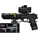 double eagle full size robocop inspired m39 air soft red dot scope and laser m39gl(Airsoft Gun)