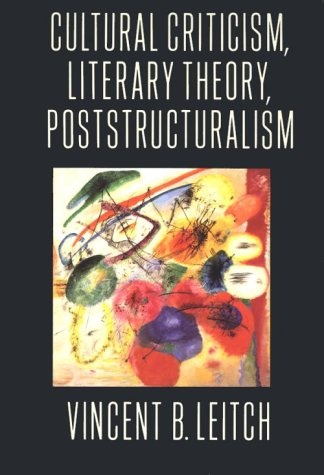 Download Cultural Criticism Literary Theory Poststructuralism Book