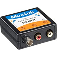 Muxlab 500001 STEREO AUDIO + BNC VIDEO BALUN