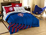 MLB Philadelphia Phillies Full Bed in a Bag with Applique Comforter
