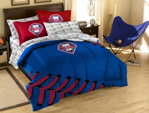 (MLB Philadelphia Phillies Full Bedding Set)