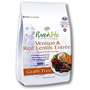 Purevita Grain Free Venison Dog Food 5Lb
