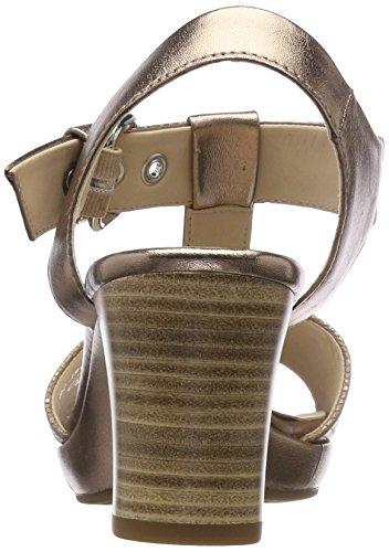 Gabor Dames Mode Het Comfort Strap Sandalen Beige (beige / Koper)