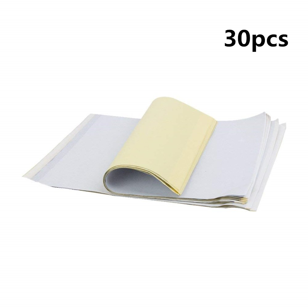 DIY 30feuilles A4Taille Tatouage thermique Carbone Pochoir papier transfert calque Printer Kit FABSELLER
