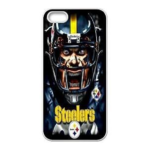 Custom Case Pittsburgh Steelers for iPhone 5, 5S O8V6138564