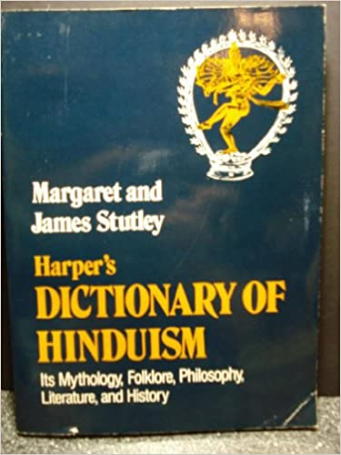 Book Harper's Dictionary of Hinduism: Its Mythology, Folklore, Philosophy, Literature, and History