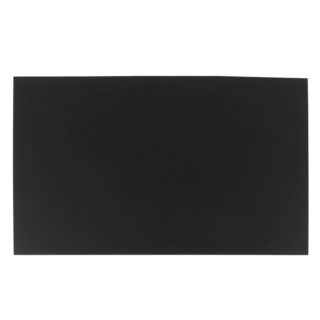 SODIAL 3mm Feuille de Perspex A3 en Acrylique Plastique Noir de la Taille 297mmx420mm