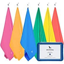 Microfiber Towel & Pouch - Quick Dry Travel Towel, Lightweight & Compact (Extra Large XL 200x90cm, Large 160x80cm) for your active lifestyle - travel, camping, gym, yoga, pilates, sports, beach