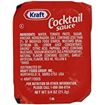 Kraft Cocktail Sauce, 0.75-Ounce Cups (Pack of 200) by Kraft Sauces and Marinades (Single Serve Cups)