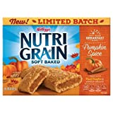 Kellogg's Nutri-Grain Cereal Bars Pumpkin spice 10.4 oz