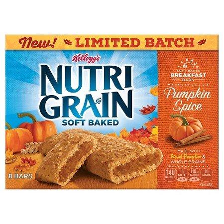 Kellogg's Nutri-Grain Cereal Bars Pumpkin spice 10.4 oz