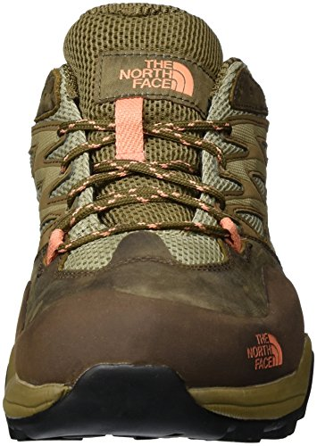 The North Face Damen W Hedgehog Hike GTX Sneakers Mehrfarbig (Cubbrn/Punchorg Aph)