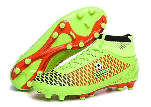 No.66 Town Mens Performance Ag Soccer Cleat Shoes Sneakers Voetbalschoenen Groen
