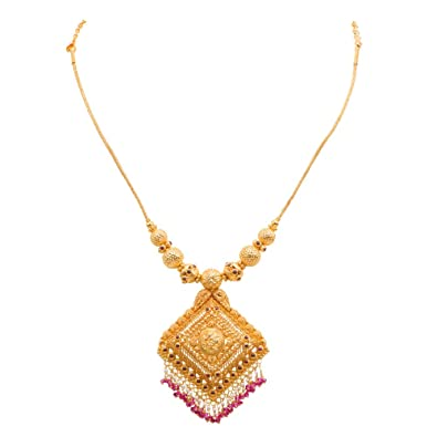 Joyalukkas 22k Gold Necklace: Amazon in: Jewellery