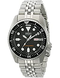SKX013K2 Black Dial Automatic Divers Midsize Watch