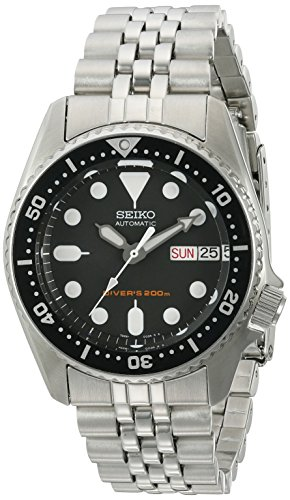 Seiko-SKX013K2-Black-Dial-Automatic-Divers-Midsize-Watch