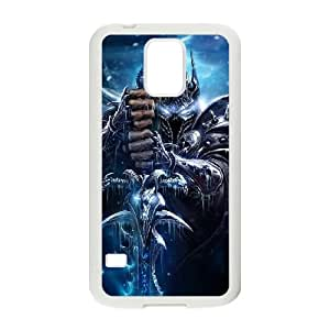 World Of Warcraft Samsung Galaxy S5 Cell Phone Case White cover xlr01_7701729