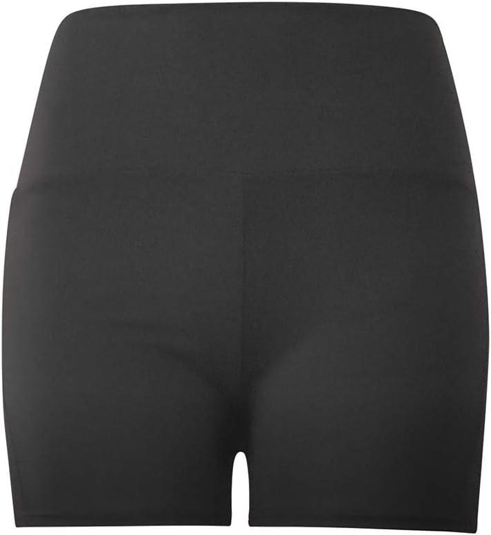Sengei Yoga Shorts for Women High Waist Tummy Control Leggings Textured Ruched Running Shorts