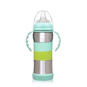 MC-BLL-Baby bottle Termo con Mango de Paja Ancho diámetro ...