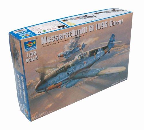 Early Version Fighter (Trumpeter 1/32 Messerschmitt Bf109G6 German Fighter Early Version Model Kit)