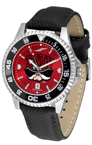 Competitor Rebels Watch - UNLV Rebels Competitor AnoChrome Men's Watch - Color Bezel
