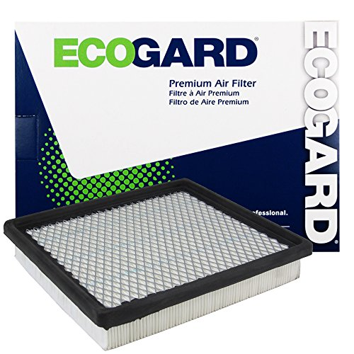 ECOGARD XA5396 Premium Engine Air Filter Fits Dodge Grand Caravan / Chrysler Town & Country / Dodge Journey, Caravan / Chrysler Voyager (Chrysler Engine)