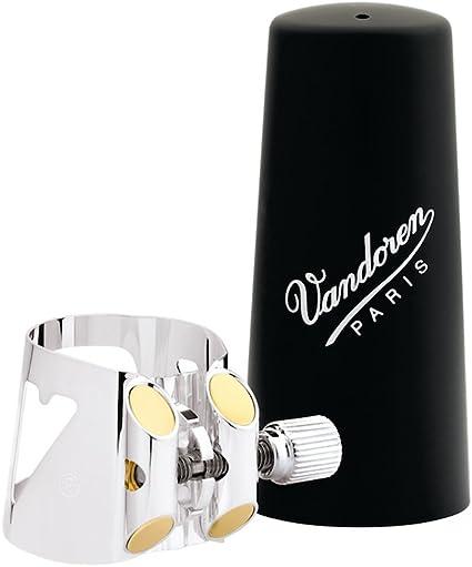 Abrazadera para clarinete Vandoren LC51BP color negro