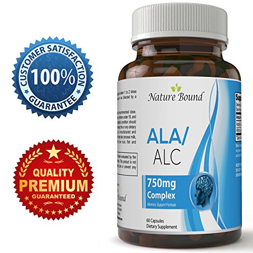 Alpha Lipoic Acid for Skin with Acetyl L-Carnitine Arginate HCL – Super Antioxidant Vitamin Formula for Women and Men – Best ALC & ALA Weight Loss and Energy Supplement for Health by Nature Bound