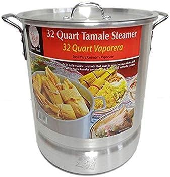 Smart Cook Premium Aluminum 32 Quarts Tamale Steamer