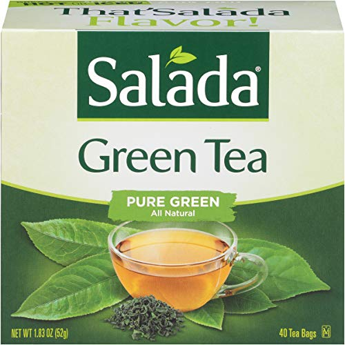 (Salada Green Tea, 40 Count Box (Pack of 6). Packaging May Vary.)