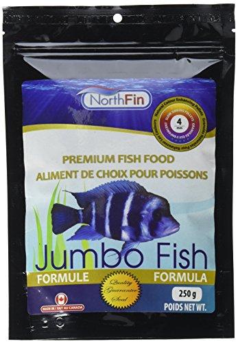 Northfin Food Jumbo Formula 4Mm Pellet 250 Gram Package ()